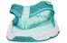 Salomon RX Break Sandals Women white/teal blue f/bubble blue